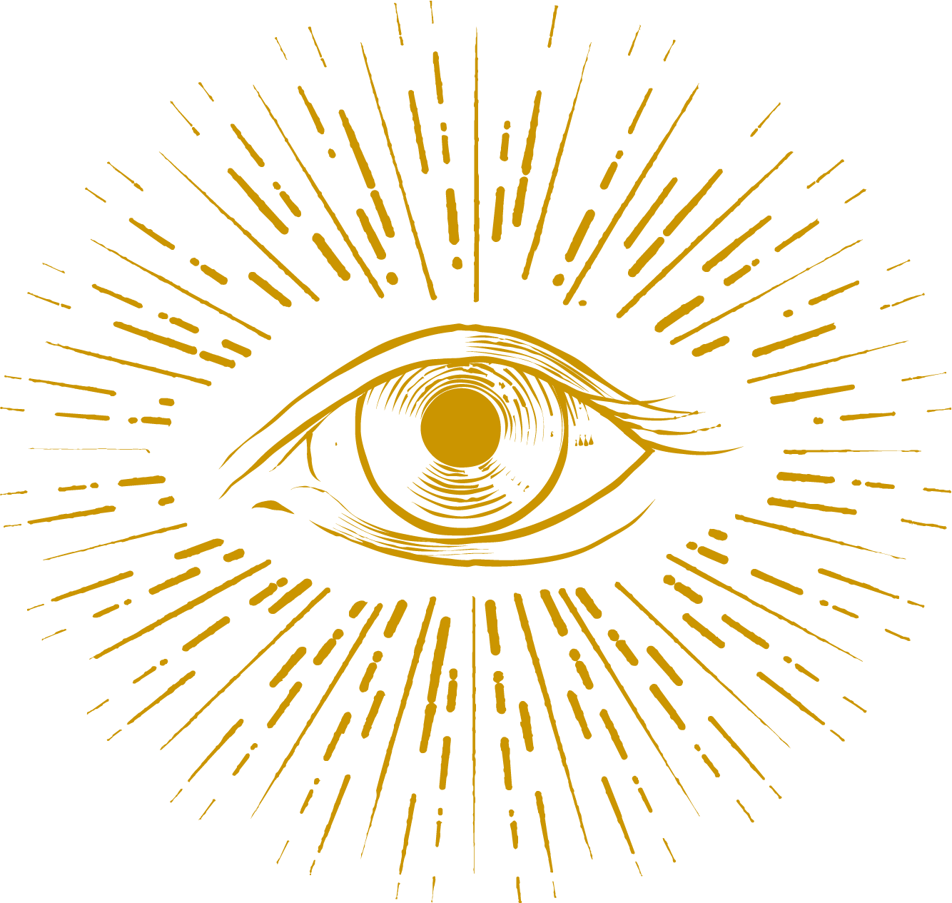 All seeing eye image.